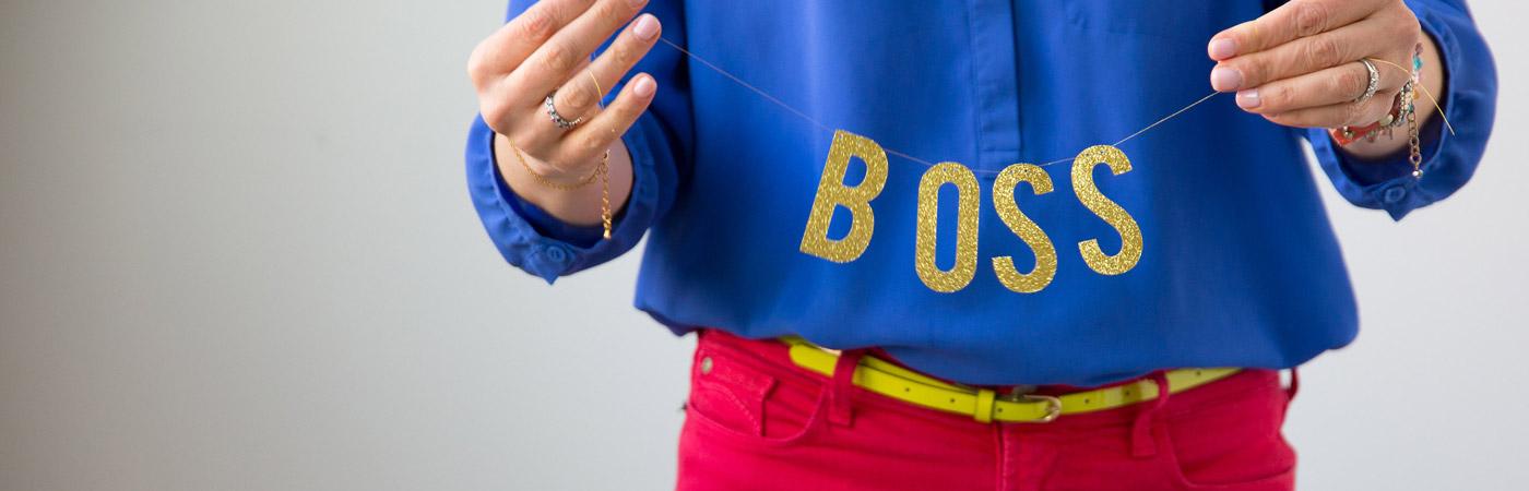 Brightly Branded Boss