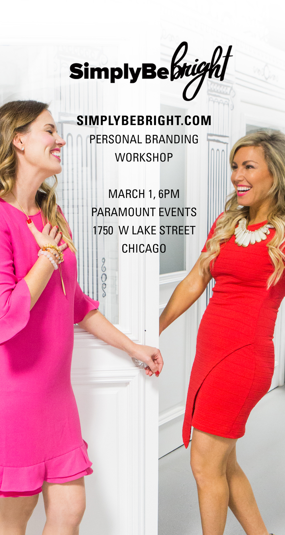 SimplyBe Bright Personal branding workshop in Chicago